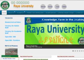 Rayu.edu.et thumbnail