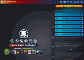 rbdb online at WI  RBDB: Rock Band Database