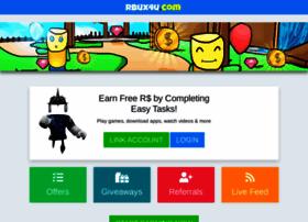 Rbux4u Com At Wi Rbux4u Com Earn Free Robux