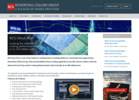 Rcg onyx plus webtrader rosenthal collins group
