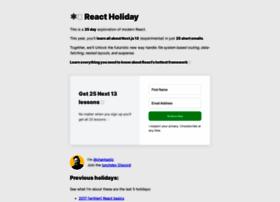 React.holiday thumbnail
