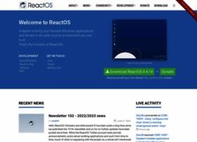 Reactos.org thumbnail