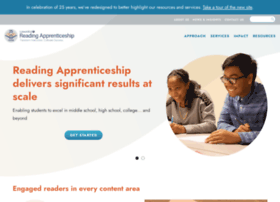 Readingapprenticeship.org thumbnail