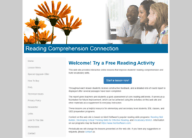 Readingcomprehensionconnection.com thumbnail