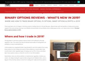 Real binary options reviews