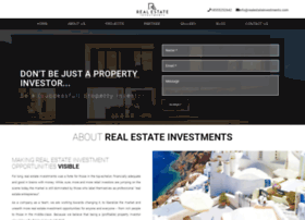 Realestateinvestments.com thumbnail