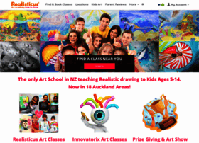 Realisticusartacademy.co.nz thumbnail