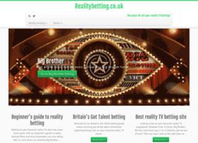 Realitybetting.co.uk thumbnail