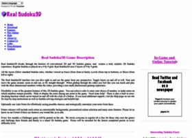 Realsudoku3d.com thumbnail