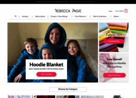 Rebecca-page.com thumbnail