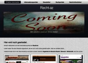 Recht-az.de thumbnail