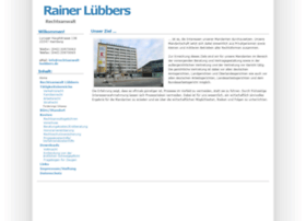 Rechtsanwalt-luebbers.de thumbnail