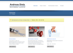 Rechtsanwalt-notar-dietz.de thumbnail