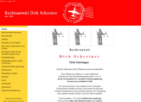 Rechtsanwalt-schreiner-gaertringen.de thumbnail