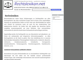 Rechtslexikon.net thumbnail