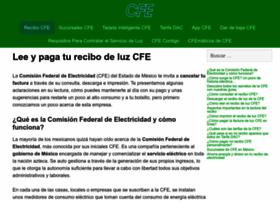Recibocfe.com.mx thumbnail