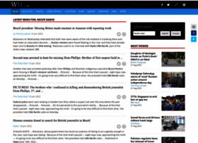 Recifefm.com thumbnail