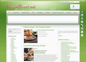 Recipedirect.net thumbnail