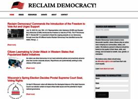 Reclaimdemocracy.org thumbnail