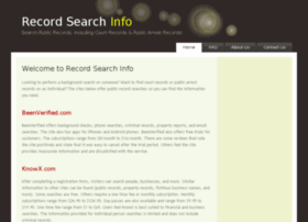 Record-search-info.com thumbnail