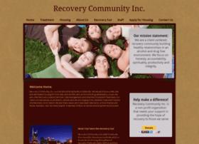 Recoverycommunity.org thumbnail