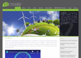 Recreate-net.eu thumbnail