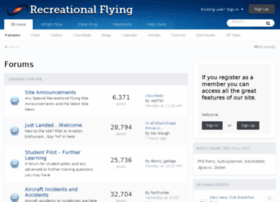 Recreationalflying.net thumbnail