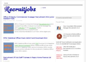 Recruitjobs.org thumbnail