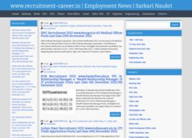 Recruitment-career.co.in thumbnail