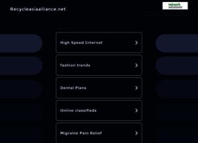 Recycleasiaalliance.net thumbnail