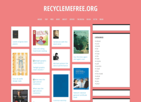 Recyclemefree.org thumbnail