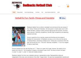 Redbacksnetball.org thumbnail