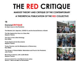 Redcritique.org thumbnail