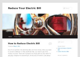 Reduceelectricitybill.info thumbnail