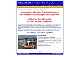 Reederei-vogt-berlin.de thumbnail