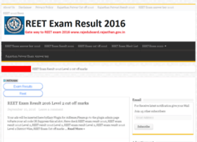 Reetexamresult2016.in thumbnail