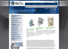 reftec recovery machine