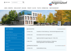 Regensdorf.ch thumbnail