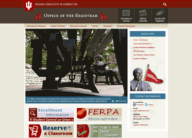 Registrar.indiana.edu thumbnail