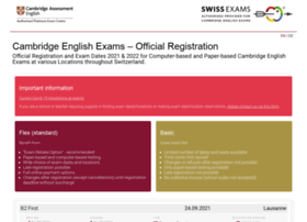 Registration.cambridge-exams.ch thumbnail