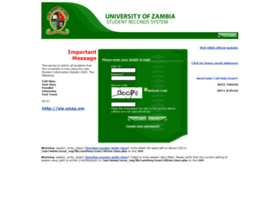 Registration.unza.zm thumbnail