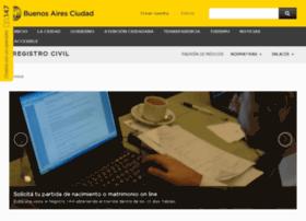 Registrocivil.gov.ar thumbnail