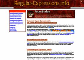 Regular-expressions.info thumbnail