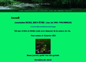 Reiki-bien-etre.com thumbnail