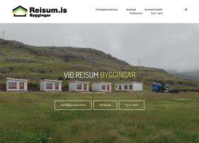 Reisum.is thumbnail