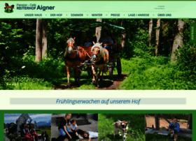 Reiterhof-aigner.at thumbnail