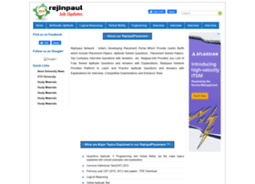 Rejinpaul.info thumbnail