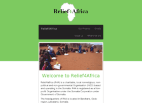 Relief4africa.org thumbnail
