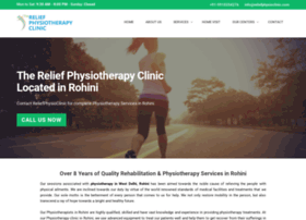 Reliefphysioclinic.com thumbnail