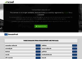 Remember-eworld.de thumbnail